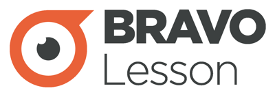 BRAVOLesson logo