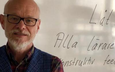 Del 6 av 10. Möt Rektor Sven-Erik Berg som har skapat systematik i hela processen