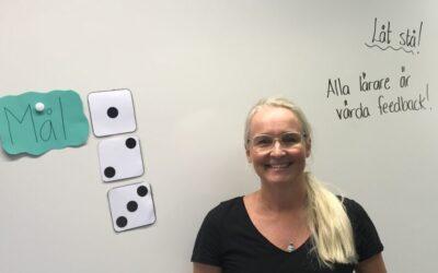 Möt rektor Jessika Müller som har ett av två perspektiv på skolans lektioner