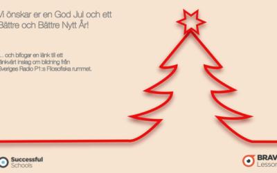 Vi önskar er en God Jul och ett Bättre och Bättre Nytt År!